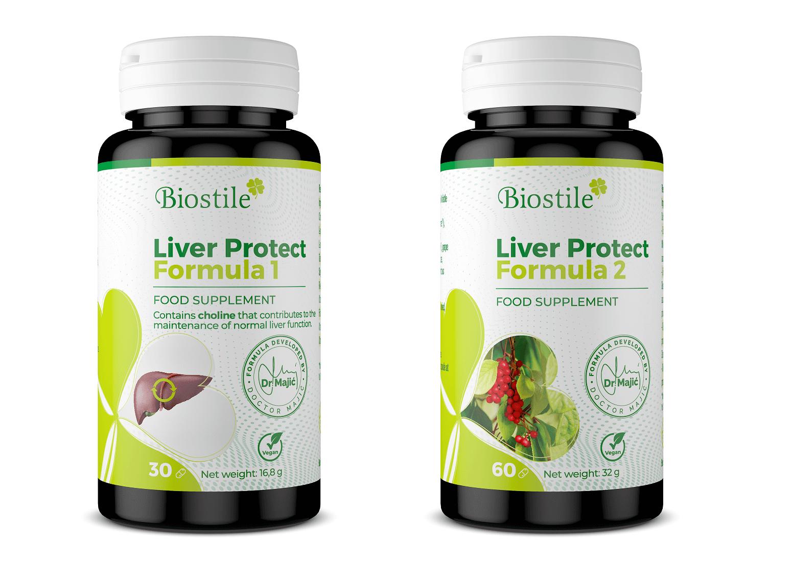 Liver Protect Complet Formula 1 + Formula 2