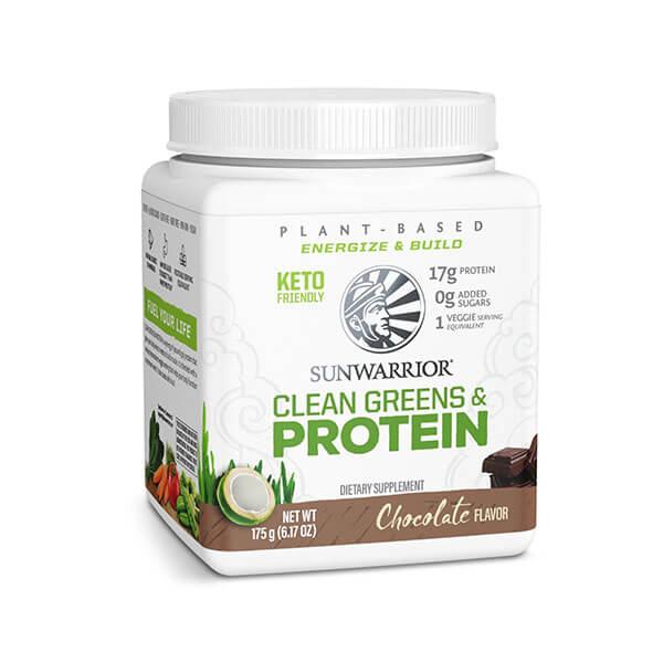 SunWarrior Clean Greens & Protein Chocolate