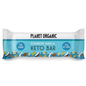 Ekološka KETO ploščica Planet Organic - burbonska vanilija