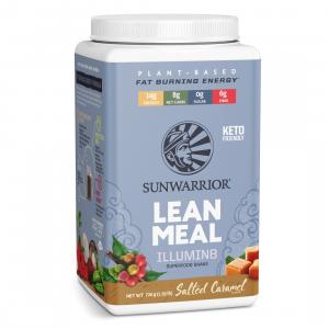 Sunwarrior Lean Meal Illumin8 mešanica za pripravo nadomestka obroka z okusom karamele