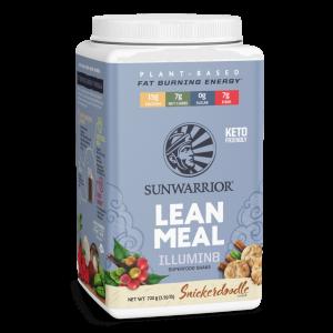 Sunwarrior Lean Meal Illumin8 mešanica za pripravo nadomestka obroka z okusom piškotka