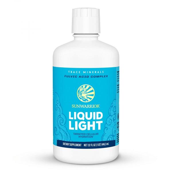 Sunwarrior Liquid Light minerali in elementi v sledeh