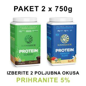 Paket 2x SunWarrior proteini