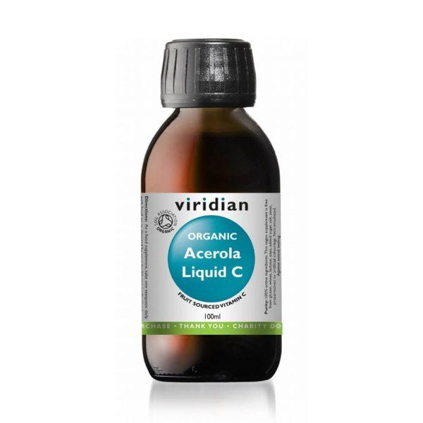 Viridian ekološka acerola, vitamin C v tekočini