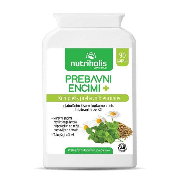 NutriHolis Prebavni encimi +