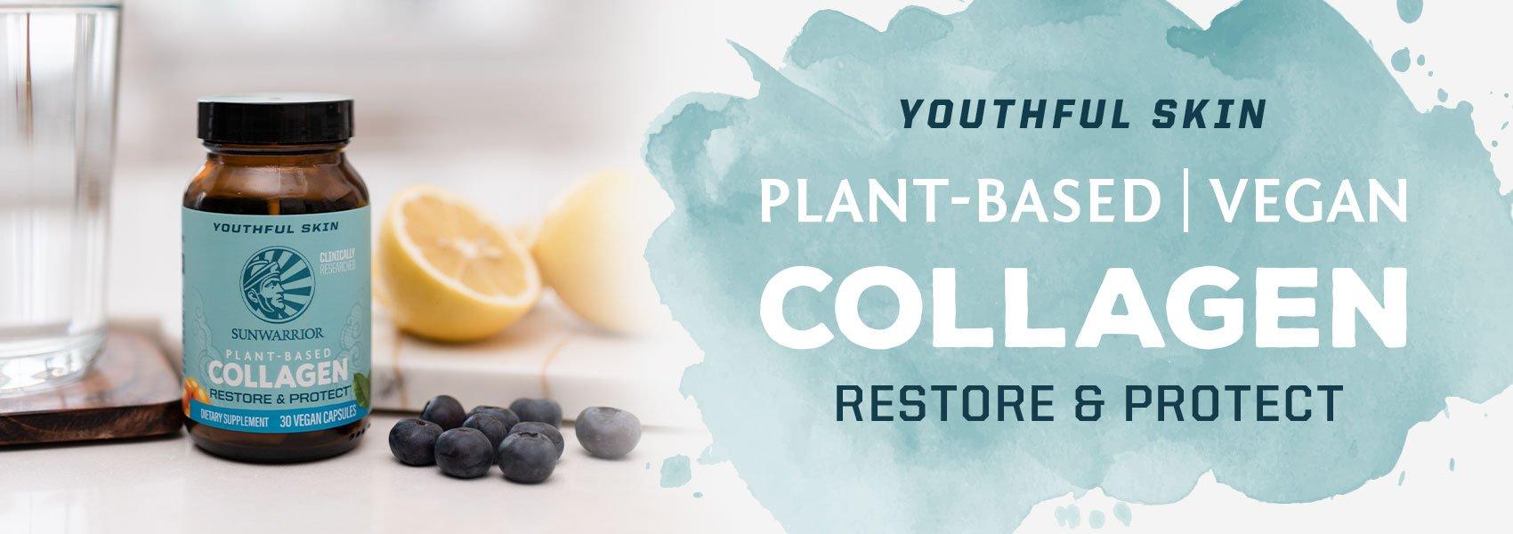 Sunwarrior Plant-Based Vegan Collagen Restore & Protect